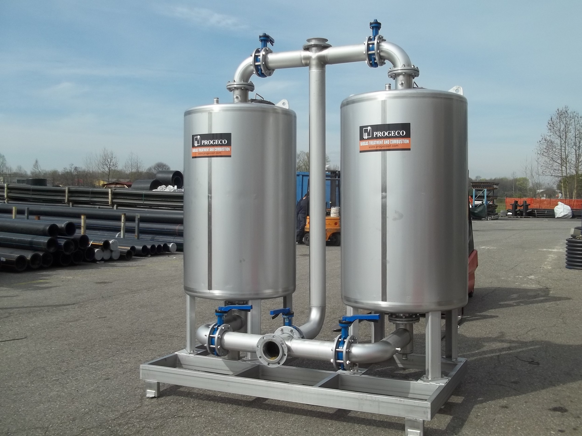FCA Activated carbon filters