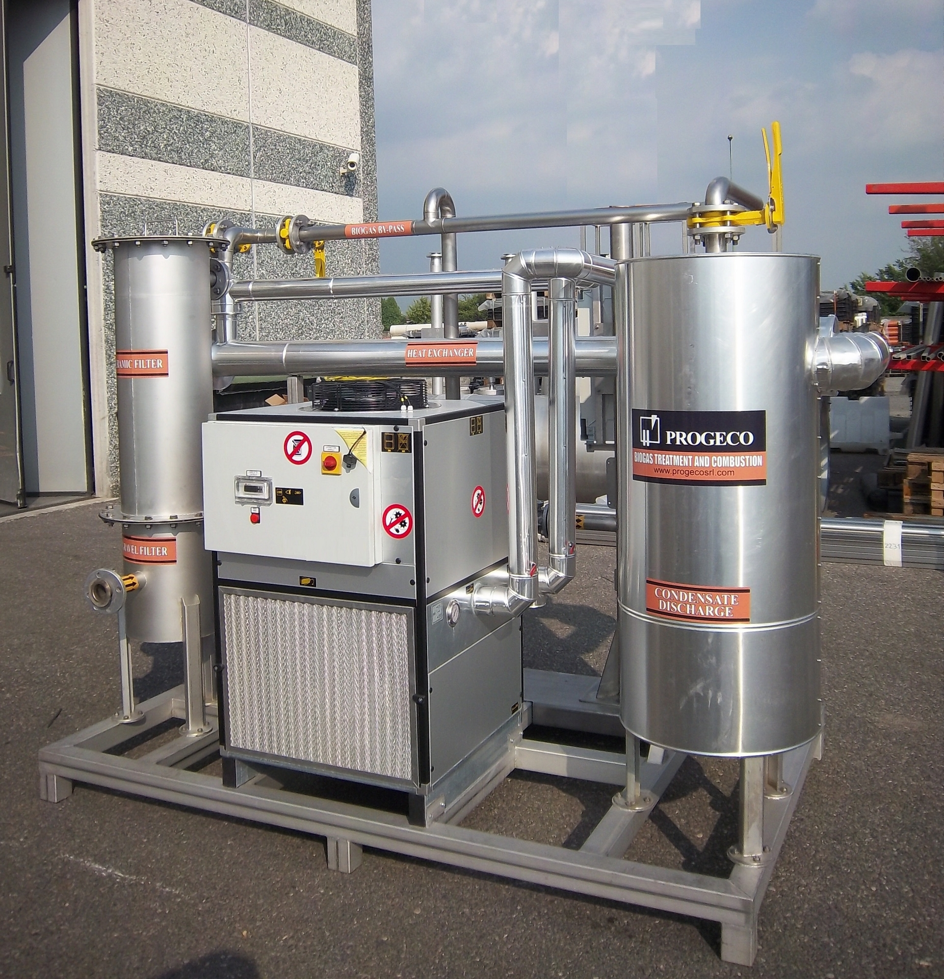 SDB - Biogas drying package unit