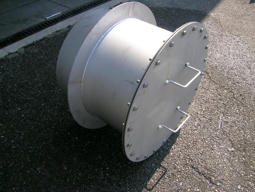 Digester manhole pdu
